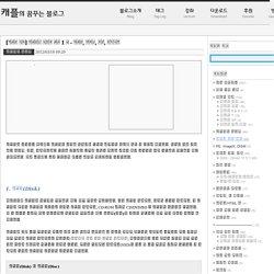 [디스크 정보] 디스크의 종류와 용어 1 장 - 디스크, 파티션, 볼륨, 드라이브