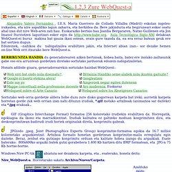 1,2,3 Zure WebQuest-a