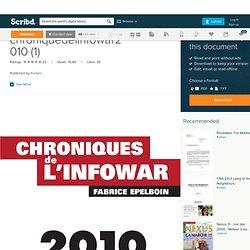 Chronique de l' infowar 2010