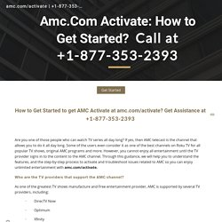 How To Activate And Watch AMC On Roku Device