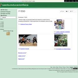 saedsureducacionfisica - 1º ESO
