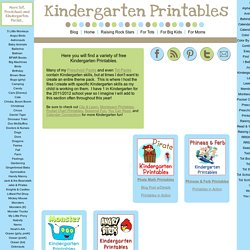 1+1+1=1...Kindergarten Printables