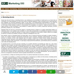 1. Marketing directo