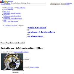 1-Minuten-Tourbillon
