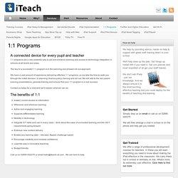 1:1 Programs