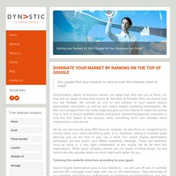 Dynastic Tech - Best SEO Services Company Sydney