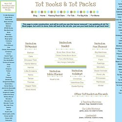 1+1+1=1...Tot Books & Tot Packs