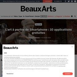 10 applications d'art gratuites