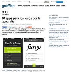 10 apps para locos por la tipografía