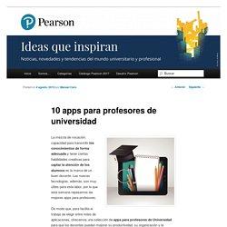 10 apps para profesores de universidad