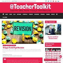10 Apps To Aid Pupil Revision