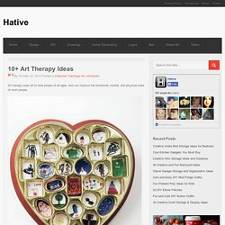 10+ Art Therapy Ideas - Hative