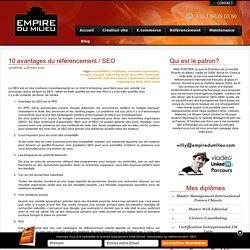 10 avantages du référencement / SEO