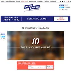 10 bars insolites à Paris