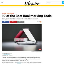 10 of the Best Bookmarking Tools for the Web