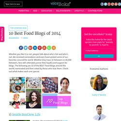 10 Best Food Blogs of 2014