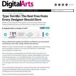 10 best free fonts 2016