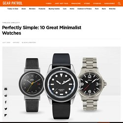 10 Best Minimalist Watches