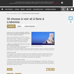10 choses à voir et à faire à Lisbonne