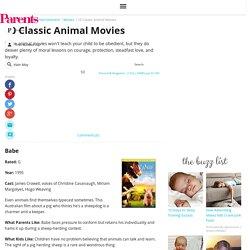 10 Classic Animal Movies