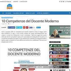 10 competenze del docente moderno