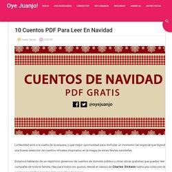 10 cuentos PDF para leer en Navidad