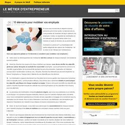 10 éléments pour mobiliser vos employés