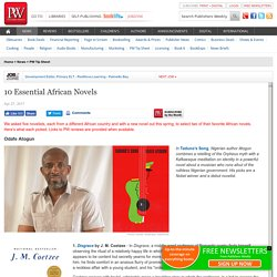 10 Essential African Novels