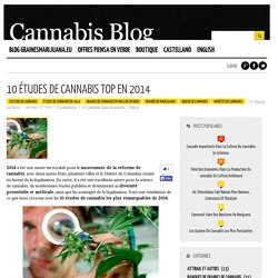 10 études de cannabis Top en 2014