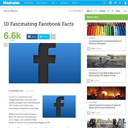 10 Fascinating Facebook Facts