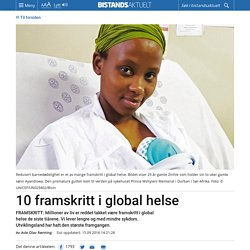 10 framskritt i global helse