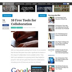 10 Free Tools for Collaboration