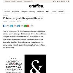 10 fuentes gratuitas para titulares