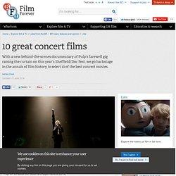10 great concert films