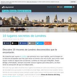10 lugares secretos de Londres