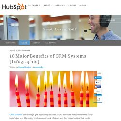 10 Major Benefits of CRM Systems