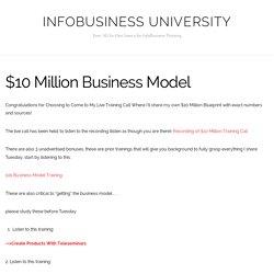 $10 Million Business Model