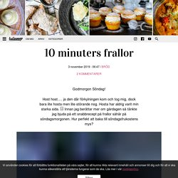 10 minuters frallor