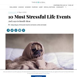10 Most Stressful Life Events