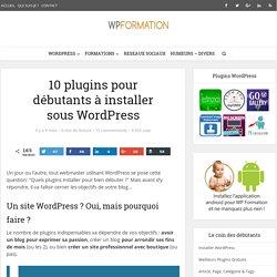 10 plugins de base pour WordPress
