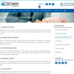 10 Reasons to Use Crown Strata