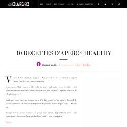 10 recettes d'apéros healthy