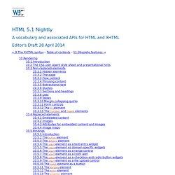 10 Rendering — HTML5