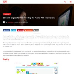 10 Search Engines For Kids