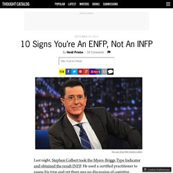 10 Signs You're An ENFP, Not An INFP