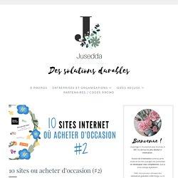 10 sites ou acheter d'occasion (♯2)