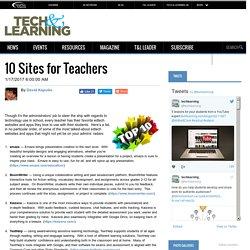 10 Sites for Teachers