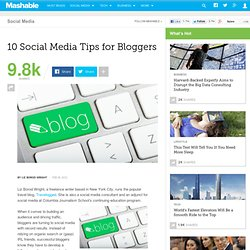 10 Social Media Tips for Bloggers