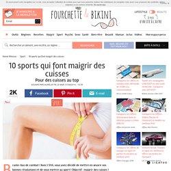 10 sports qui font maigrir des cuisses