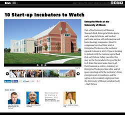 10 Start-up Incubators to Watch